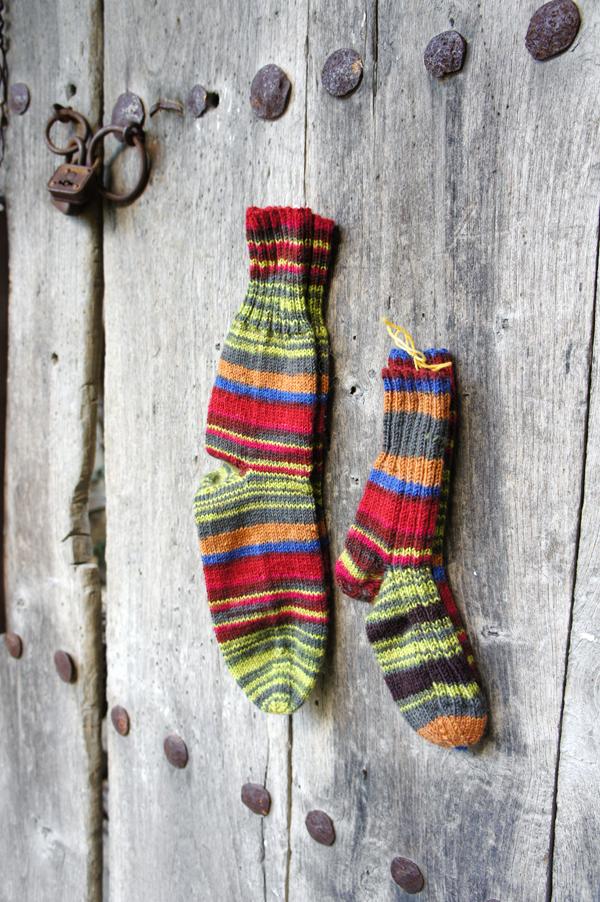Πλεκτές κάλτσες