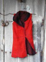 Κόκκινο φουστάνι felt